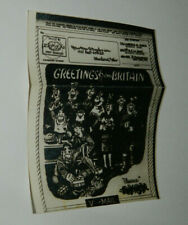 V Mail Pictorial Greetings From Britain Apo 654