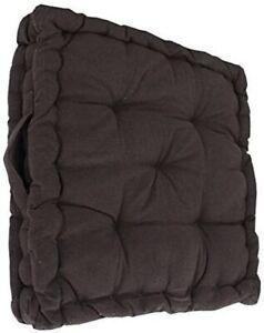 "Armchair Booster Cushion, Black, Size 45 x 45 x 10 cms, 18"" x 18"" x 4"""