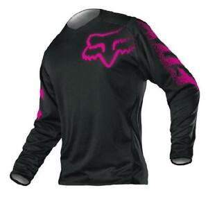 NEW 2021 Fox Racing Blackout Womens Jersey Black / Pink