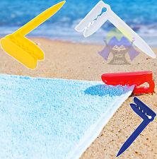 PINZETTA Telo ASCIUGAMANO Mare VENTO Spiaggia PICCHETTO Gancio PINZA Clip