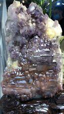 Huge amethyst elestial quartz specimen