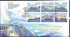 Pitcairn generale, 2009 Royal Navy visiters min Fogli, FDC, CAT £ 16+