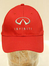 Infinity Hat Red Adjustable One Size Youth