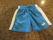 Puma toddler Youth Athletic basketball Shorts 3T Blue boys girls elastic waist