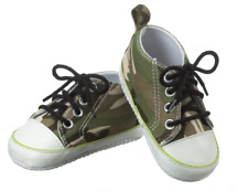 Ganz Baby Boy, Girl 0-12 month Army Camouflage Style Camo Shoes Booties ER34144