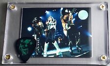 KISS Cornerstone preview group card / Ace Farewell tour guitar pick display!!!