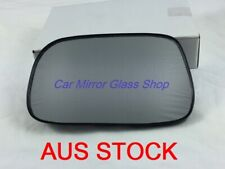 MIRROR GLASS WITH BACKPLATE FOR TOYOTA COROLLA AE112 1998 - 2001 (LEFT SIDE)