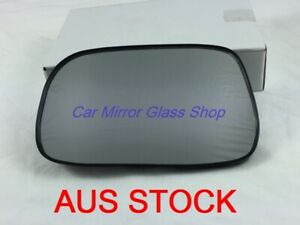 MIRROR GLASS WITH BACKPLATE FOR TOYOTA ECHO 1999-2005 (LEFT SIDE)
