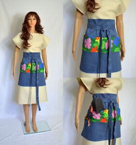 Unique Gardening Apron Cotton Denim handmade fashion tool belt high quality