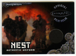 Breygent 2013 Transformers Optimum TC1 NEST Uniform Relic Card - Chapman