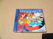 CAPCOM VS SNK para SEGA DREAMCAST