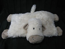 """8"""" Jellycat LAMB SHEEP TRUFFLES BEAN BAG PILLOW cream tan plush stuffed animal"""