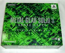 PS2 METAL GEAR SOLID 3 SNAKE EATER PREMIUM PACKAGE Japan GAMES