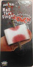 AWW! Nail Thru Finger Gag Toy Trick Joke Gag Gift Prank