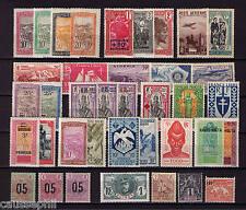 es - Colonies Françaises AVANT Indépendance, Joli lot 38 différents