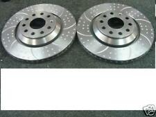 GOLF MK5 R32 PASSAT EOS DIMPLED GROOVED BRAKE DISC REAR