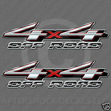 Silver Truck Decal - 4x4 Off Road Sticker Big Size