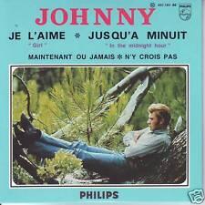 CD ep JOHNNY HALLYDAY je l'aime