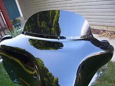 """Harley Davidson 8"""" dark tinted windshield Street Glide/Electra Glide 2014-2018"""