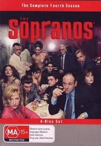 THE SOPRANOS SEASON 4 : NEW DVD