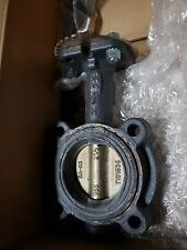 NIBCO LUG STYLE BUTTERFLY VALVE LD-2100-3 in Box 2.5