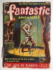 FANTASTIC ADVENTURES pulp magazine April 1952