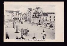 Portugal Azores PONTA DELGADA-AZORES Matriz Church c1902 u/b PPC