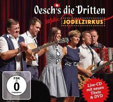 OESCH'S DIE DRITTEN - 20 JAHRE JODELZIRKUS   CD+DVD NEU