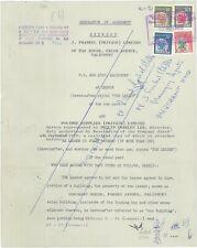 RHODESIA - 1970 Arms Revenues to $20 in Memorandum (incl. cream $4) (ME651)*