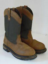 Rocky Ride 200G Insulated Waterproof Wellington Men's Boot 10 W brown FQ0002867