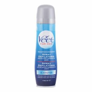 Spray Depilatory Body Men Veet (150 ML)