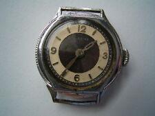 Alte Laco Damenarmbanduhr aus Sterlingsilber und Chrom DAU Armbanduhr