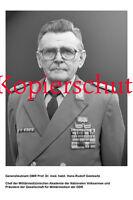 G75 Generalleutnant OMR Prof. Dr. med. habil. Gestewitz DDR Foto 20x30 cm