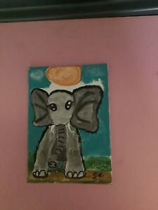 Elephant Painting Made By Me