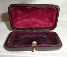Leather Brooches/Pins Antique Jewellery Boxes