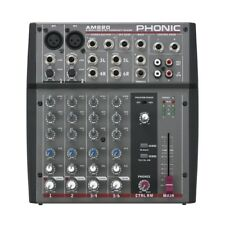 PHONIC AM 220 mixer audio 6 canali per karaoke studio live