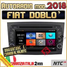"AUTORADIO 7"" DVD/CD MP3 MP4 FIAT DOBLO NUOVO GPS navigatore Bluetooth 2018 /"
