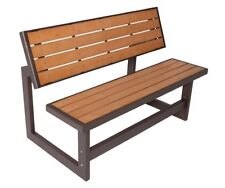 New Lifetime Convertible Bench 60054 Faux Wood Outdoor Picnic Table and Bench