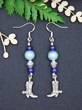 Beads Drop/Dangle Sterling Silver Handcrafted Earrings