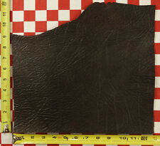 """Authentic Horween Brandy Print Dublin Brown Leather 5 Oz. 12.5""""x11"""" 1st Qlty"""