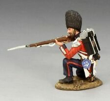 KING & COUNTRY CRIMEAN WAR CRW031 BRITISH COLDSTREAM GUARD KNEELING FIRING MIB