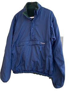 Vintage PATAGONIA Reversible Anorak Blue/Green size L