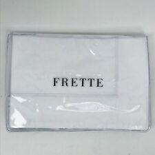 FRETTE Luxury King Sham | Italian Percale Cotton | Embroidered One Bourdon | NWT