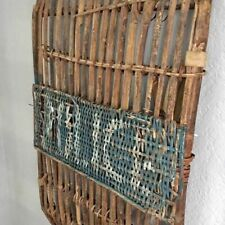 Vintage Bamboo Police Riot Shield