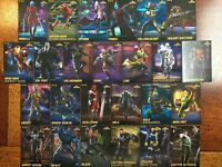 Marvel Contest Of Champions Cards Complete UnCommon Set Of All 25 Arcade Game