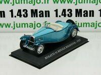 AUT21M Voiture 1/43 IXO altaya Voitures d'autrefois BUGATTI 41 Royale Roadster