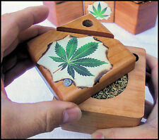 Stash Box with pipe and paper