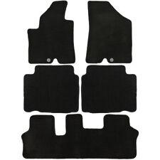 UAA Custom-fit Black Carpet Suv Floor Mats Set for Hyundai Veracruz 2007-2012