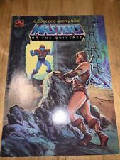 Masters of the universe color and activity book vintage He-man