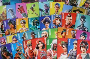 alle 200 Karten FORTNITE Trading Card Serie 1, 1- 200 KOMPLETT + 2 x TIN